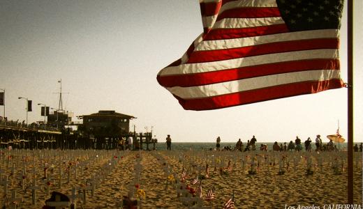 アクロス・アメリカ【第三章・海辺の墓標】―怒りを訴えたいのか、悲しみを訴えたいのか―