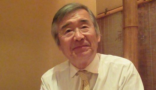 """「学校は地域社会の""""心棒""""」と言う東洋大学名誉教授・長澤悟さん"""